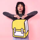 【Jump From Paper】JFP157 バックパック イエロー Color Me In Collection / Spaceman 正規輸入品
