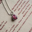 GemStone Necklace  -Pink Tourmaline- 8-10mm【受注後制作】