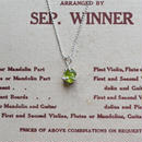GemStone Necklace  -Peridot-