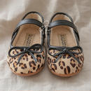 leopard boa  shoes