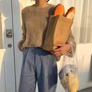 shaggy knit tops