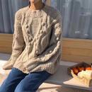 pompom  knit