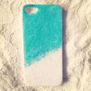 aqua glitter iPhone5s case...❤︎