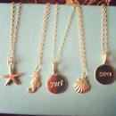 charm necklaces...❤︎