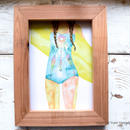 "ART PRINT "" beachy holic"" B5 size"