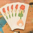 Hibiscus girl sticker