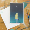"post card ""fullmoon"""