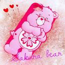 【日本限定】Care bears シリコンケース ラブアロットベア♥for iPhone8/7/6s/6