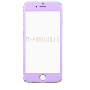 9Hガラスフィルム PASTEL PURPLE for iPhone6s/6専用♡MERRYGADGET