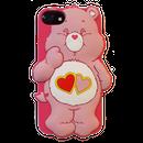 Care bears シリコンケース ラブアロットベア♥for iPhone7/6s/6