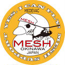 MESH(寄付付き)ステッカーB★ワンコイン寄付