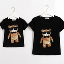 B127 Cool bear satads family t-shirt