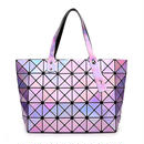 B107 triangle mirror design bag