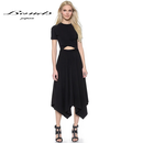 B087 High Waist Summer dress
