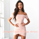 B104 Off shoulder Party dress