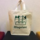 Miagolareロゴ オリジナルトートバッグ Mサイズ