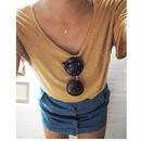 14kgf   moon necklace