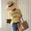 手編み麻ハンドバッグ