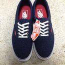 (NEW) VANS LPE Dark Blue ネップ柄