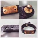 Handcrafted Lether Bracelet 332 - 1987