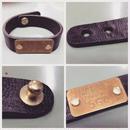 Handcrafted Leather Bracelet 564 - 1987