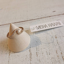 MISHA HAWAII/CZ WAVE RING