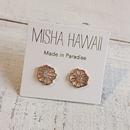 MISHA HAWAII/SEA FLOWER STUDピアス