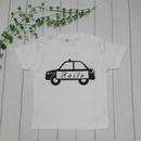 お名前入り!パトカー ベビーTシャツ~サイズ80・90