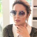 Runbird ダイヤモンド 高級 cat eye サングラス 女性 最新 ファッション デザイナー コーティング ミラー メタル サングラス feminino uv キャットアイ フレーム