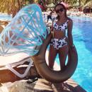ダイヤモンド リング インフレータブル マットレス スイミング サークル プール フロートパーティー 玩具 ダイヤモンド 浮き輪 指輪 浮き輪 ダイヤモンドリング フロート 浮輪 うきわ 送料無料