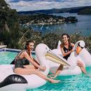 インフレータブル フラミンゴ プール スイミング リング 大人 子供 水 ホリデー パーティー おもちゃ PISCINA 150CM フロートフロート送料無料 浮き輪 浮輪 うきわ 大人用 子供用