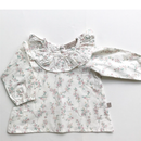 【juliedausell】Blouse - Clair - white with flower pattern