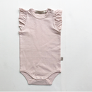 【juliedausell】frill bodysuite no sleeve nude
