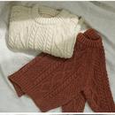 【bien a bien】cable knit pullover