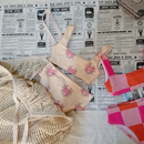 【fish&kids】こども swim wear crab or pink