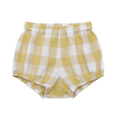 【little cotton clothes】poppy bloomers - custard textured gingham