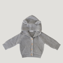 【Jamie kay】Bear Cardigan - Grey