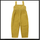 【littlecotton clothes】margo dungarees - mustard chunky cord