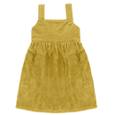last 1【little cotton clothes】TABITHA  PINAFORE  MUSTARD  CHUNKY CORD