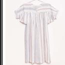 last 1【fish&kids】2018ss OVERSIZED  floral dress ivory