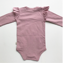 10月下旬入荷予定【juliedausell】frill body suite long sleeve purple pink