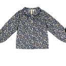 last1【little cotton clothes 】annie blouse blue floral