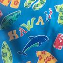 ハワイアンブルー イルカ&ハワイグッツ ハワイアンプリント