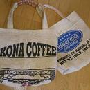 ハワイ島コナコーヒー麻袋 トートバッグ
