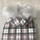 ORIGINAL fur hoodie . [ pink L , XL ]