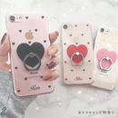 【ネーム入り】Mini Heart♡ミニハート【クリアハードケース】