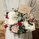 mother's day flower arrangement  /Pale Pink(L)
