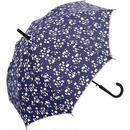 【耐風傘】猫つぶ ネイビー 品番:nt-5828134-s2
