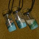 【送料無料】砂と小瓶のペンダント