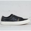 CONVERSE ONE STAR PIPINNG  Leather - BLACK 159701C